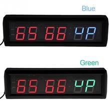 45c2f0c5397 Hot 220 V 1.8   LED Programável Temporizador De Intervalo Relógio Grande Cronômetro  Digital Home