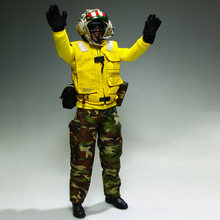 "1/6 Scale VeryHot Movable Soldier Action Figure Suit Accssories Aircraft Handler Clothes for 12"" Soldier Military Model(China)"