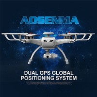 Original Aosenma Cg035 Double Gps Optical Positioning Wifi Fpv 6 Axis 1080p Hd Camera Rc Quadcopter Multirotor Rc Drone