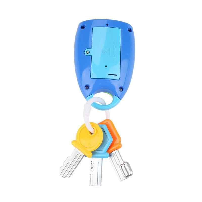 Детская музыкальная машинка замок игрушка-ключ умный дистанционный автомобиль голоса ролевые игры музыка Ранние развивающие игрушки для ребенка красочная вспышка