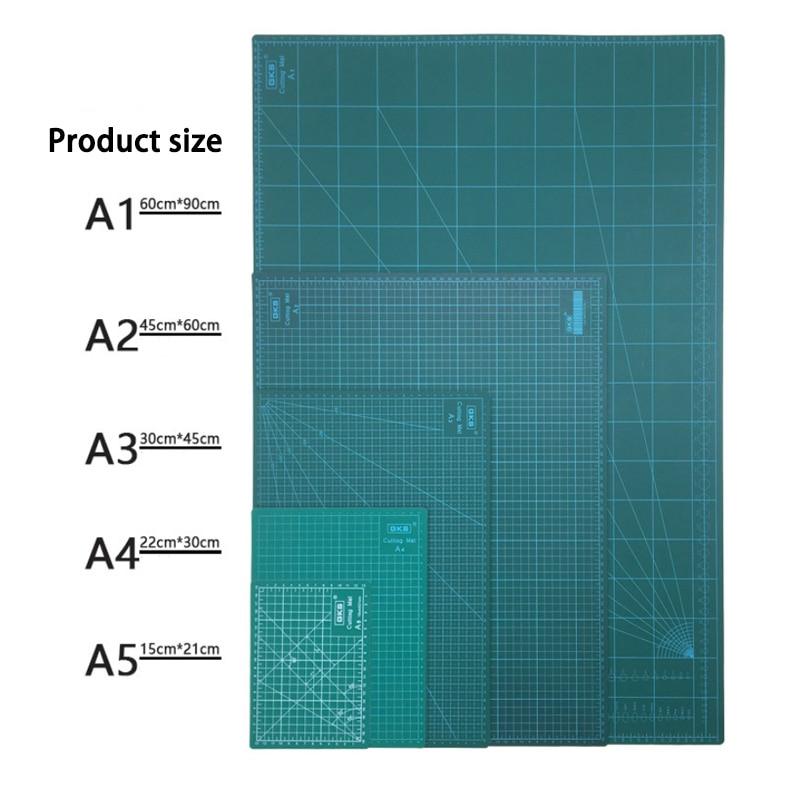 A2 A3 A4 A5 PVC placa de Corte Mat Pad Patchwork Cut Almofada Patchwork Ferramentas Manuais DIY Placa De Corte Duplo- frente e verso LCD Ferramentas de Reparo