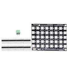 LED Development Board 40 Bit Built-in Full-color RGB LED Flexible Panel Driver Development Board(China)