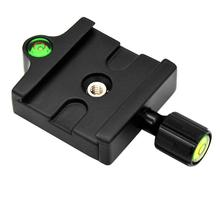 """Get more info on the 1set General Clamp And Quick Clip Release Plate With 1/4-3/8"""" Screw Adapter ABS Yuntai Accessories For Tripod SLR Camera Fixed"""