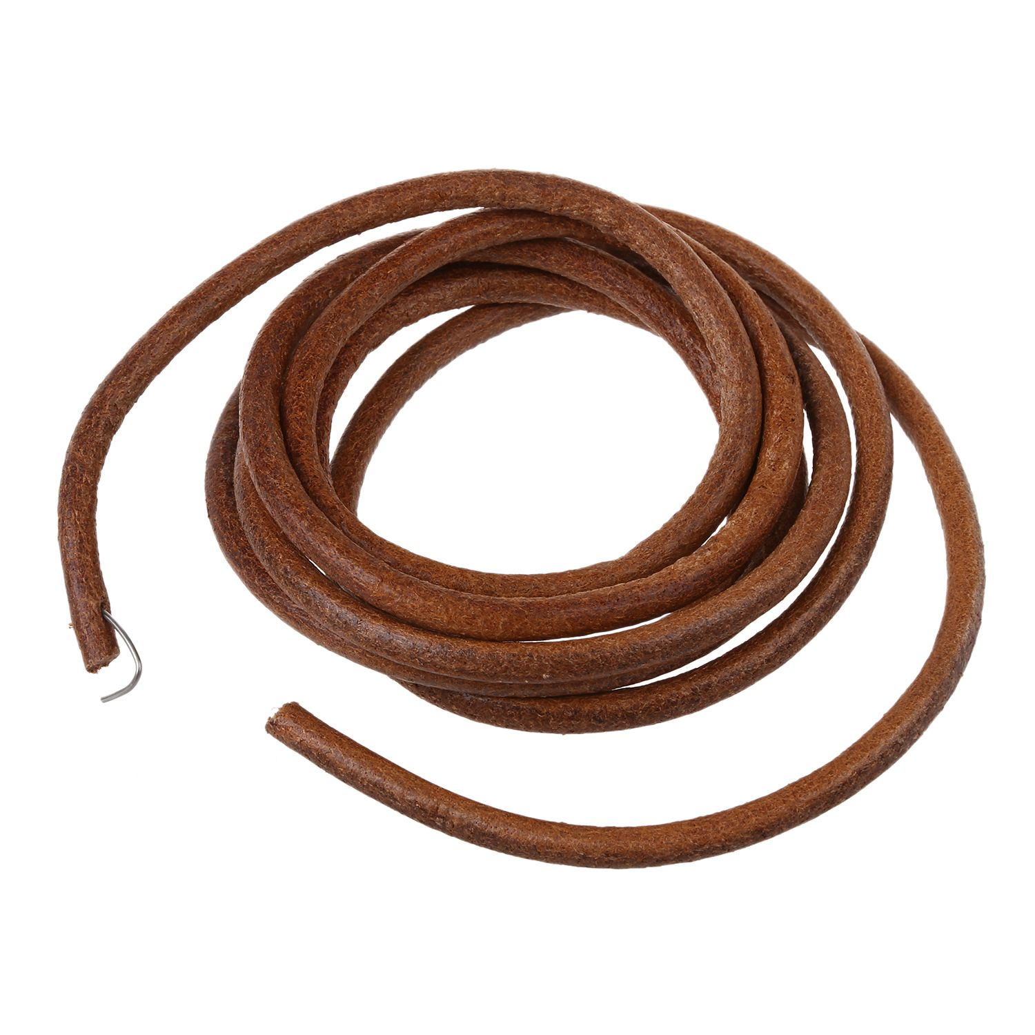 "JEYL 72"" 183 cm Leather Belt Treadle Parts + Hook For Singer Sewing Machine"
