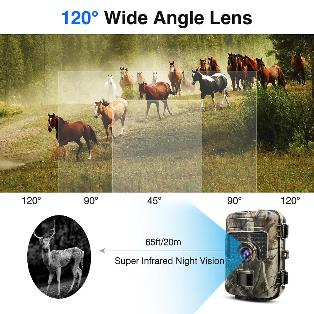 Image 4 - HH 662 Hunting Trail Camera 1080P 940nm Wildlife Night Vision for Animal Photo Traps Hunting Camera-in Surveillance Cameras from Security & Protection