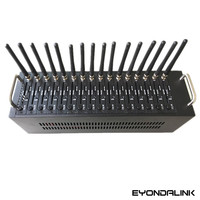 3g modem WCDMA 16 port modem pool, multi sim modem 3g sim5360 for Japan