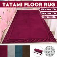 Tatami Area Floor Rug Kid Play Carpet Coral Fleece Mat Living Room Bedroom Decor Durable Soft Anti slip No Fade 4 Colors