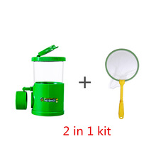 Bug Viewer Insect Magnifier Collect Kit Children Observer Biology Learning Toy Kids +41cm Butterfly Net Tool Catch Bugs