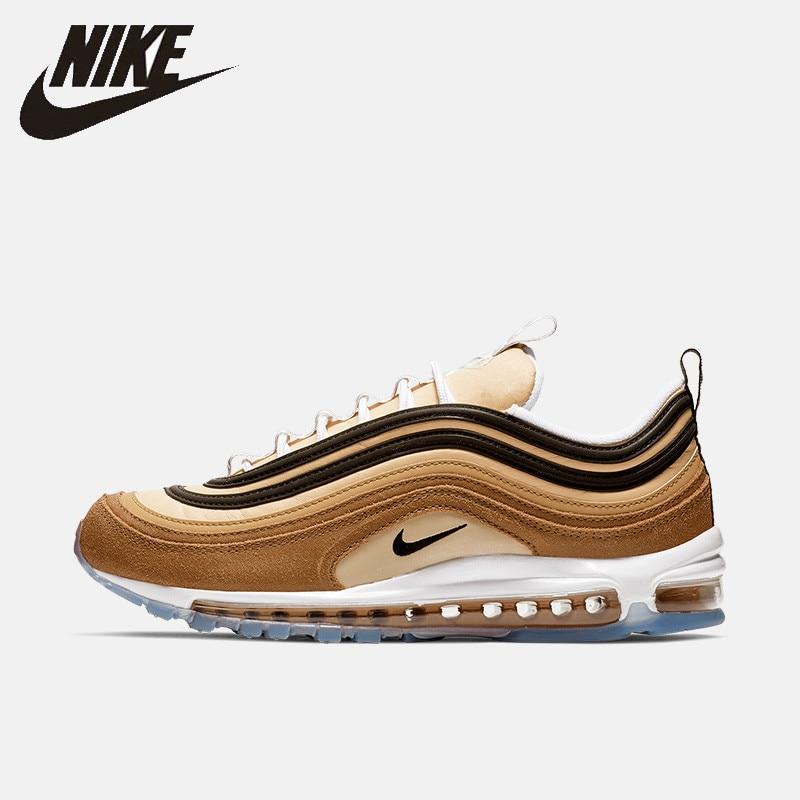 new concept 1eec7 c831f Nike oficial aire Max 97 hombres zapatos cojín de aire al aire libre cómodo  antideslizante deportes