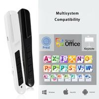 High Quality Wireless PPT Pointer Wireless Laser Pen Multi Functional Teaching Speech Presenter With The Ergonomic Design