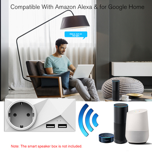 Image 5 - Wifi Smart Plug Mini Dual Outlets 2 USB Ports Smart Socket with Energy Monitoring & Timing Function,Voice Control Compatible