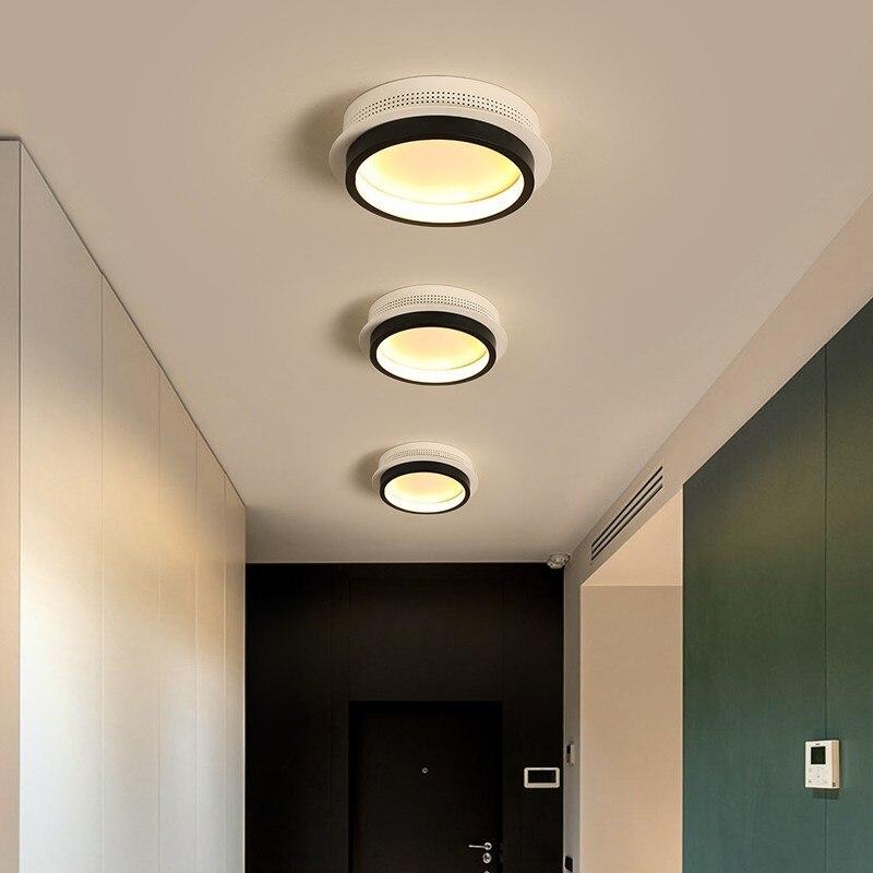 Modern LED Ceiling Lights For Corridor Entrance Of Home Plafonnier Luminaria Lamparas De Techo Simple Lighting Lamp Fixture
