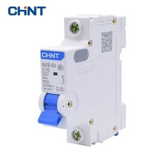 CHINT CHNT Miniature Circuit Breaker NXB-63 1P 1A 3A 6A 10A 16A 20A 25A 32A 40A 63A 230V 50HZ Air Switch MCB New DZ47 стоимость
