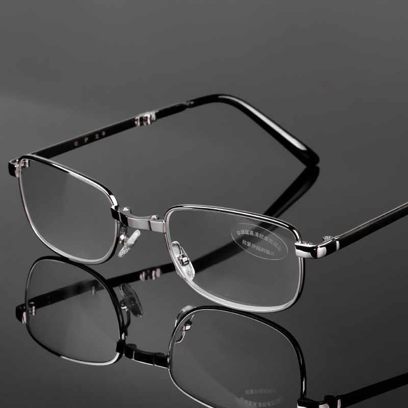 Iboode, gafas de lectura plegables de aleación, para mujeres y hombres, gafas para prótesis ultraligeras + 0,5 0,75 1,0 1,25 1,5 1,75 2,0 2,5 3,0