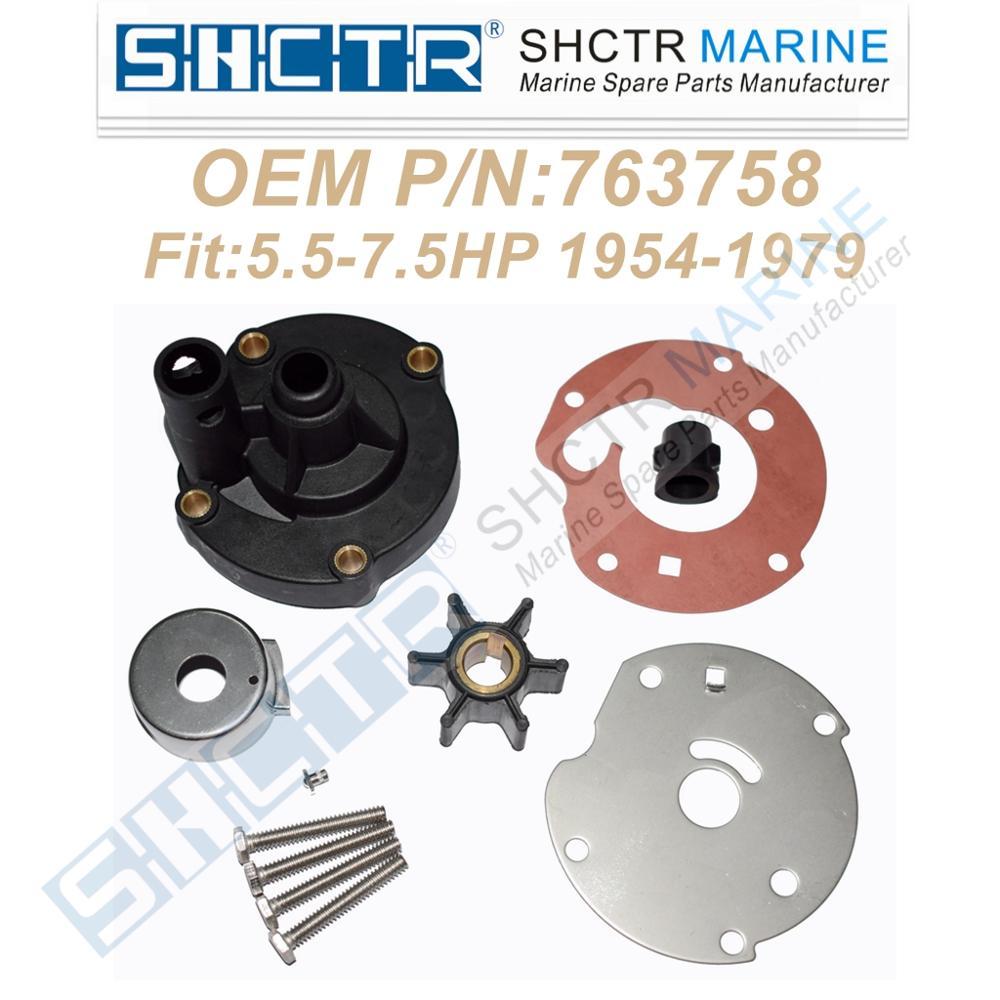SHCTR Water Pump Repair Kit For 763758,5.5/7.5HP