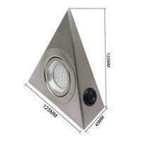 led warm Fashion For Camper Van Caravan Motorhome light Lamp Interior LED  Warm Light Spot Cabinet light 110V (2)