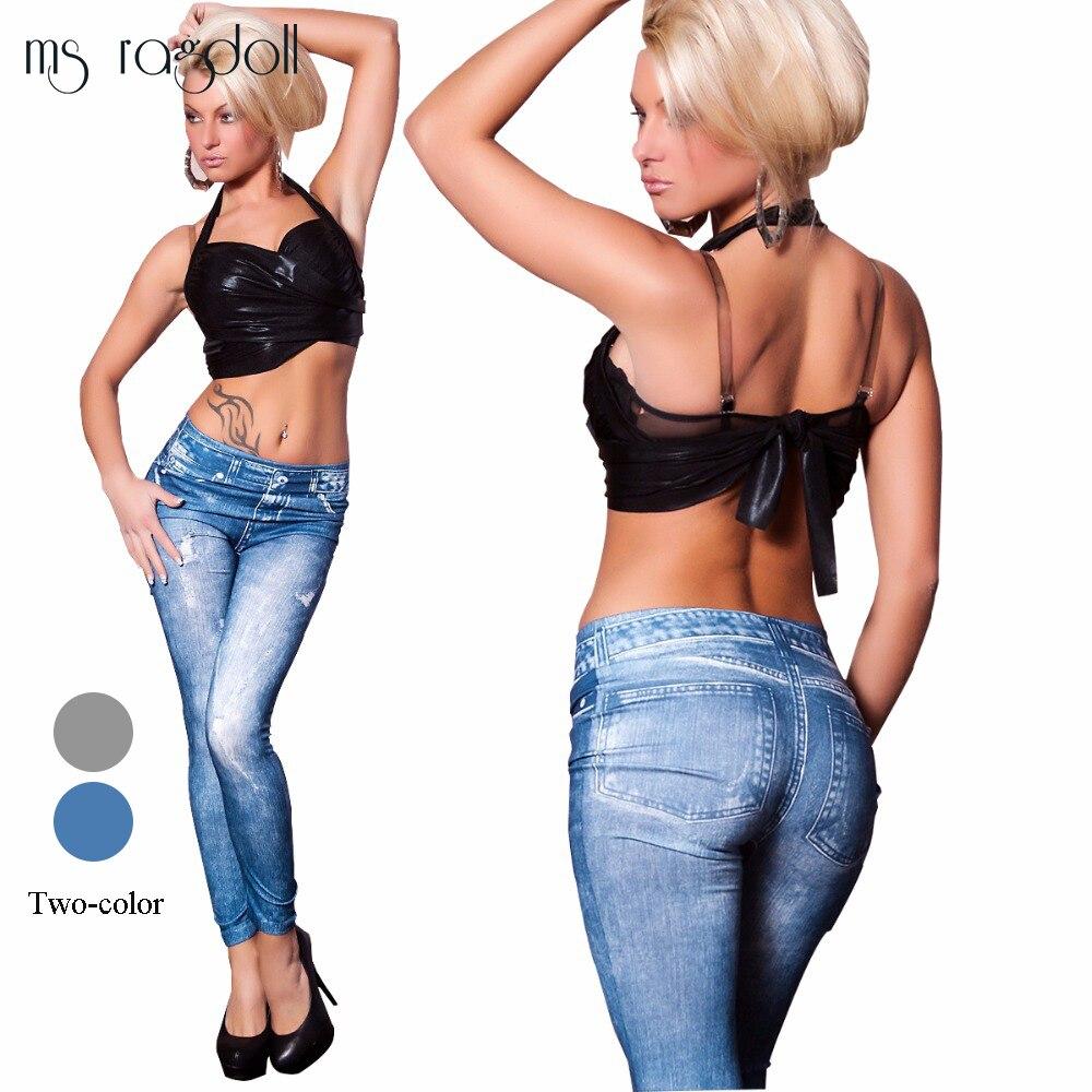 2017 Frauen Jeans Leggings Casual Fashion Skinny Slim Gewaschen Jeggings Dünne Hohe Elastische Denim Legging Bleistift Hosen Für Frauen