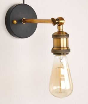 Loft Vintage Industrial Edison Wall Lamps Wall Sconce Warehouse Wall Light Fixtures E27 110v/220v Bedside Lighting