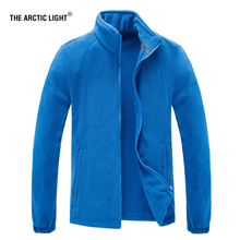 THE ARCTIC LIGHT Men Women Polar Fleece Jacket Hike Trekking 2019 Spring Warm Outdoor Sports Windproof Coats Camping Hiking