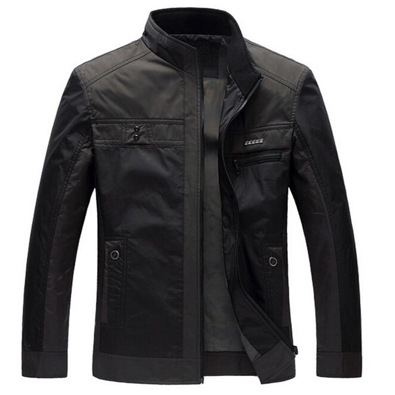 Jacket Men Business Thin New Fashiong Casaco Masculino Splice Durk Blue Jaqueta Masculina Male Spring Jackets Hot Selling