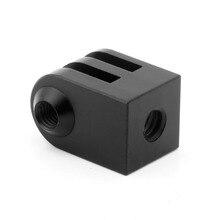 Cnc Aluminium Legierung Mini Stativ Mount Outdoor Sport Kamera Basis Adapter Für Alle 1/4 Zoll Schraube Einbeinstativ Zubehör