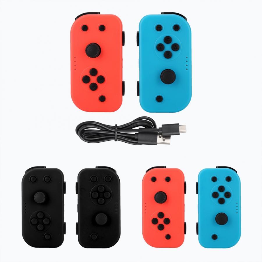 Manette de jeu sans fil BT gauche droite manette de jeu Joy-con Joypad pour NS commutateur Console joystick android