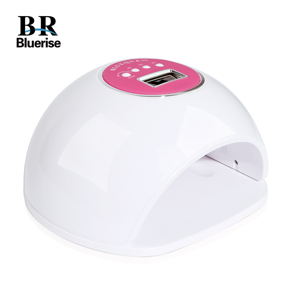 Nail Lamp 72W UV LED Lamp for Nails Gel Polish Nail Dryer 33 LEDs DIY Smart Manicure Art Tools BLUE1