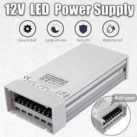 Power Supply LED Driver AC 110 220V to DC 12V 48/60/72/100/120/150/180/200/240/300/360/400W LED Adapter Light Transformer