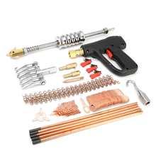 86pcs Dent Repair Puller Kit Car Body Dent Spot Removal Repair Device Welder Stud Welding Machine Pulling Hammer Tool Kit