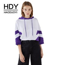 HDY Haoduoyi Autumn Women Hoodie Casual Long Sleeve Hooded Pullover Sweatshirts Hooded Female Jumper Women Tracksuits Sportswear olevo gothic punk women hoodie casual long sleeve hooded zip up sweatshirts hooded female jumper women coat tracksuits hoody 5xl