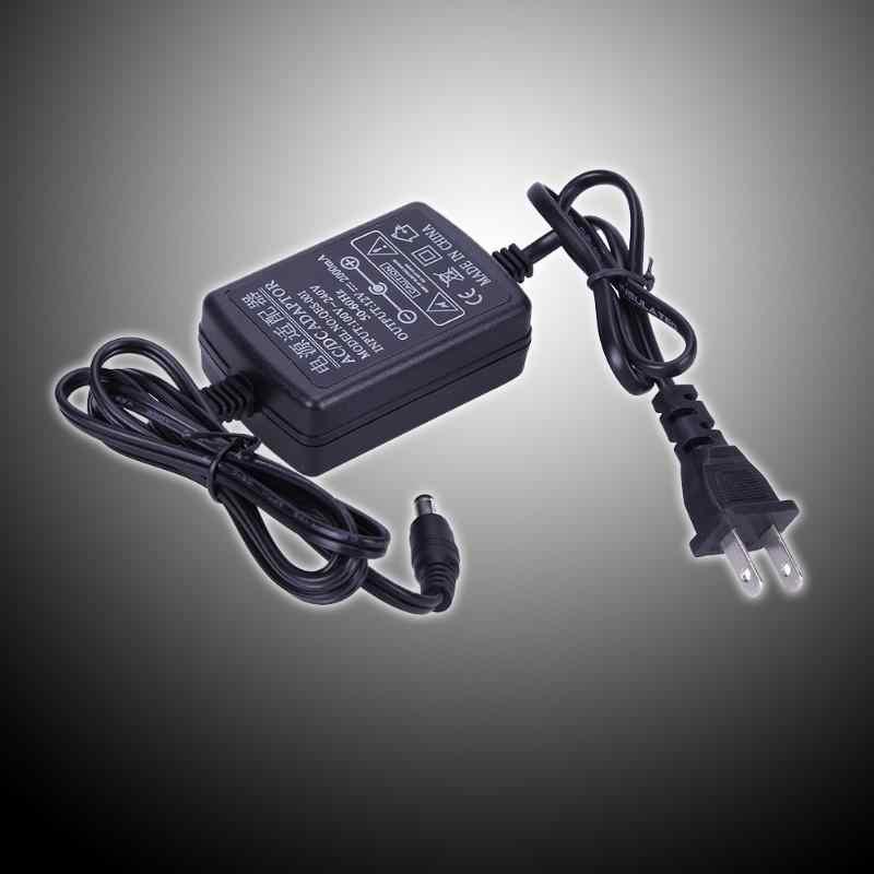 Adaptador de corriente CA a CC 12V 2A convertidor de Cable Dual Universal 5.5x2.1-2,5mm