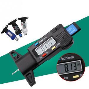 Image 4 - Digital Tire Tread Depth Gauge Meter Measurer LCD Display Tread  Tire Tester For Cars Trucks Range 0 25mm