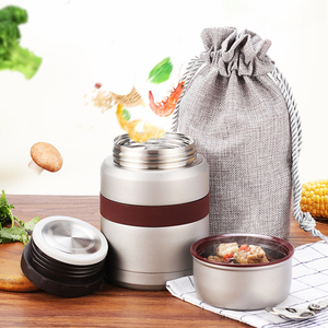 Image 4 - 4 Colors for hot food 350mL with containers thermos Thermoses stainless steel mini lunch box thermo mug Vacuum Flasks