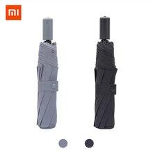 Xiaomi paraguas plegable ultraligero para hombre y mujer, resistente al viento, impermeable, Unisex, portátil