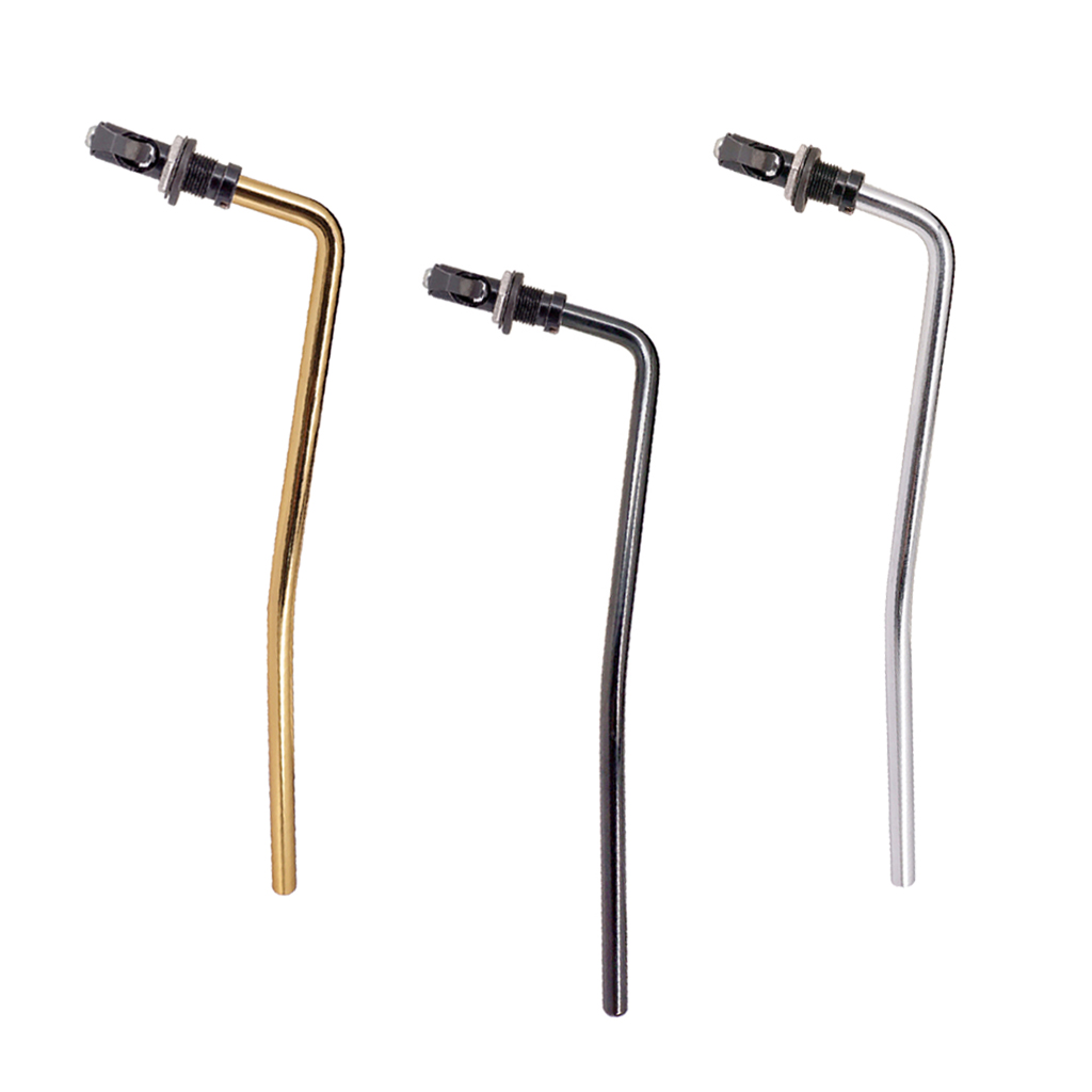 6mm Iron Durable Electric Guitar Tremolo Whammy Bar Arm Direct Insertion With Brass Socket