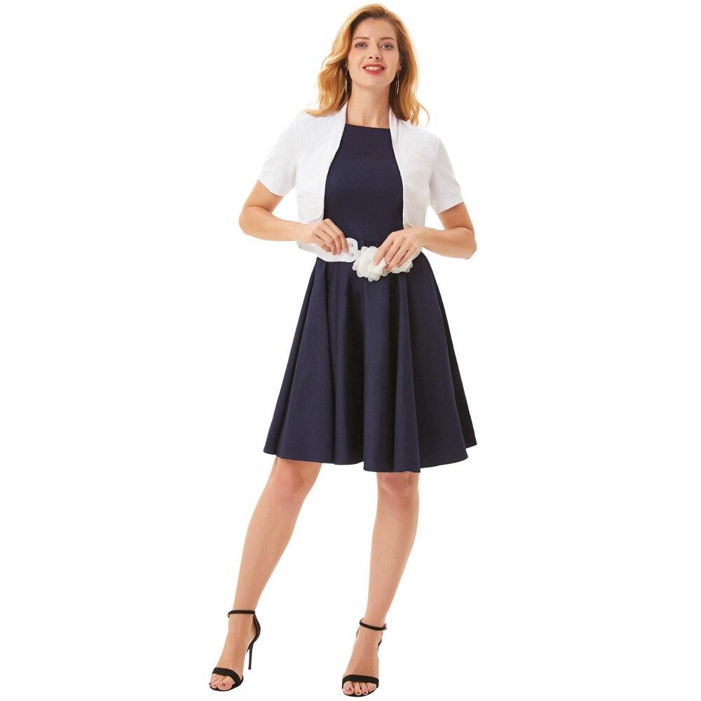 Womens Coat Summer Ladies Short Sleeve Pleated Sides Cotton Shrug Bolero Fashion Office Work Business Women Coat  2019
