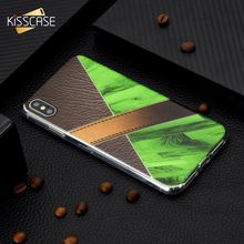 KISSCASE Marble Pattern Soft Silicone Phone Case For iPhone X XR XS MAX 6 6s 7 8 Plus PU Leather Fundas Capa Cover Cases
