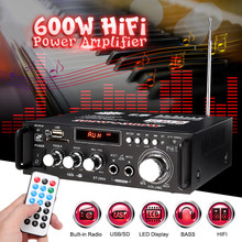 600w Home Amplifiers Audio bluetooth Amplifier Subwoofer Amp