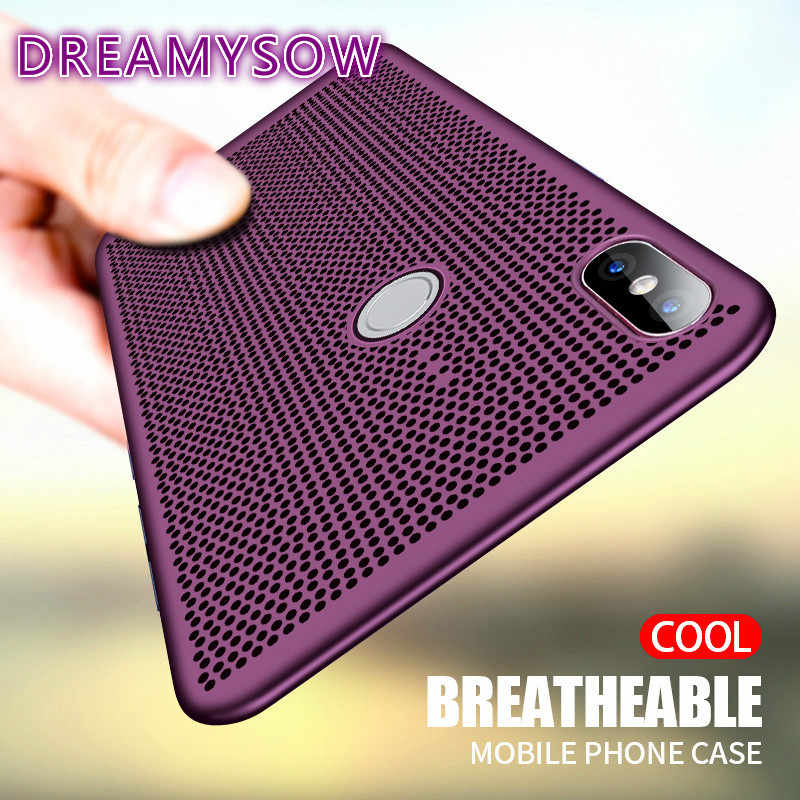 Heat Dissipation Case For Redmi Note 7 Note 6 6pro Note 5  4 Note3 Phone Case For Redmi 6 6A 6Pro 5 5plus 5A 4X S2 Y2 Hard Cover