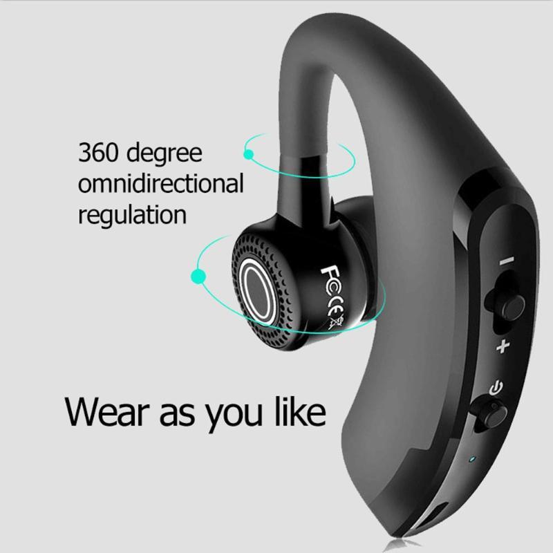 V9 Bluetooth 4.1 Earphone Handfree CSR Noise Control Business Car Wireless Headset support APP/3D Stereo Enhancement