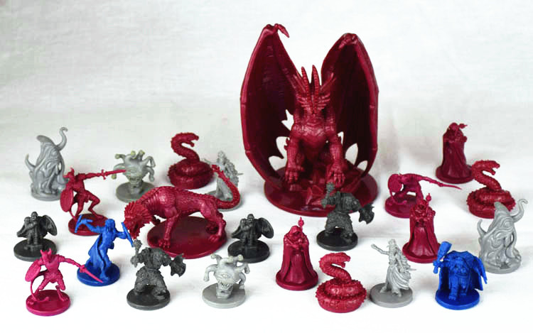 1/72 Plastic Model Dragon & Dungeon Role Playing Game Model Kit Toys For Children Free Shipping