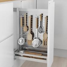 Pantry Organizador Accessories Organizer Alacena Stainless Steel Cozinha Cocina Kitchen Cabinet Cestas Para Organizar Basket