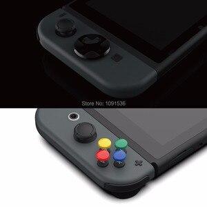 Image 3 - Skull & Co. D Pad Button Cap Set Thumb Grip for Nintend Switch Joy Con Controller Joystick Cover