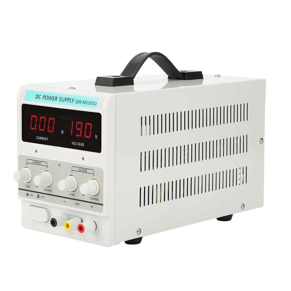 30V 5A Variable Regulated Digital DC Power Supply Accuracy Adjustable US Plug