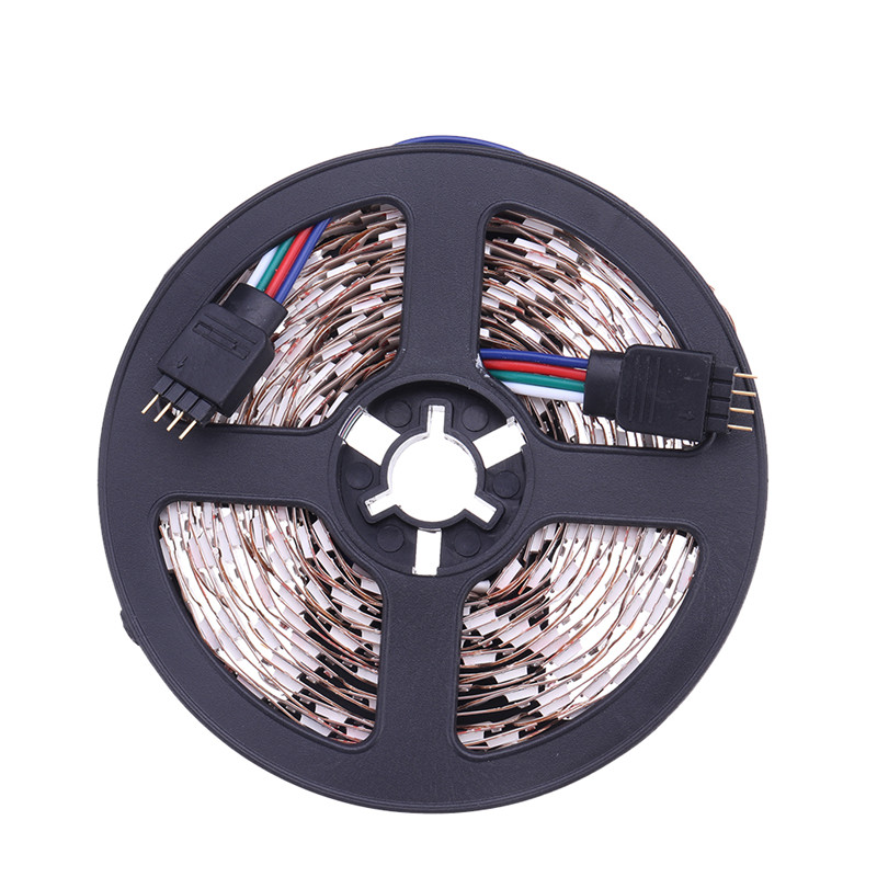 CLAITE 30W DC12V 5M 5050 S Shape Bendable RGB LED Strip Light for Channel Letter Sign Backlighting IP20 No WaterproofCLAITE 30W DC12V 5M 5050 S Shape Bendable RGB LED Strip Light for Channel Letter Sign Backlighting IP20 No Waterproof