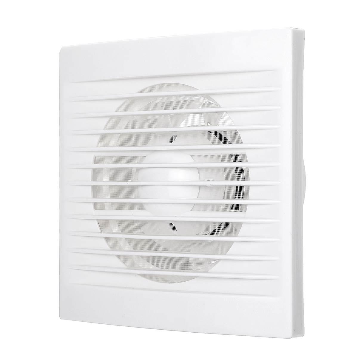 220V 12W 4 inch Exhaust Fan for Bathroom Kitchen Toilets Home Ventilation Fans Low Noise Air Vent Fan Part220V 12W 4 inch Exhaust Fan for Bathroom Kitchen Toilets Home Ventilation Fans Low Noise Air Vent Fan Part