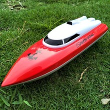 RC Boats Charging Outdoor Radio Remote Control 4 Channels Waterproof Mini Boat Airship Bait 802 Gift For Children Toys