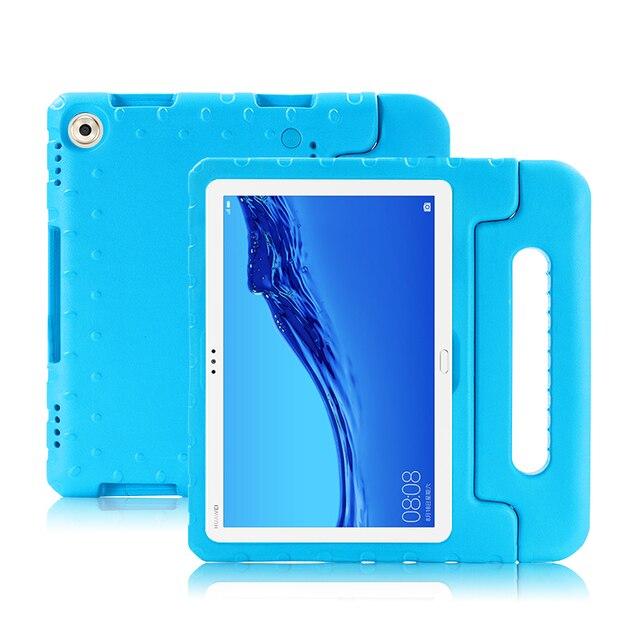 Capa de silicone para huawei mediapad m5 lite 10 10.1, capa de celular para tablet de criança, pc, AGS2 L09 AGS2 W09 DL AL09 w09 em eva capas