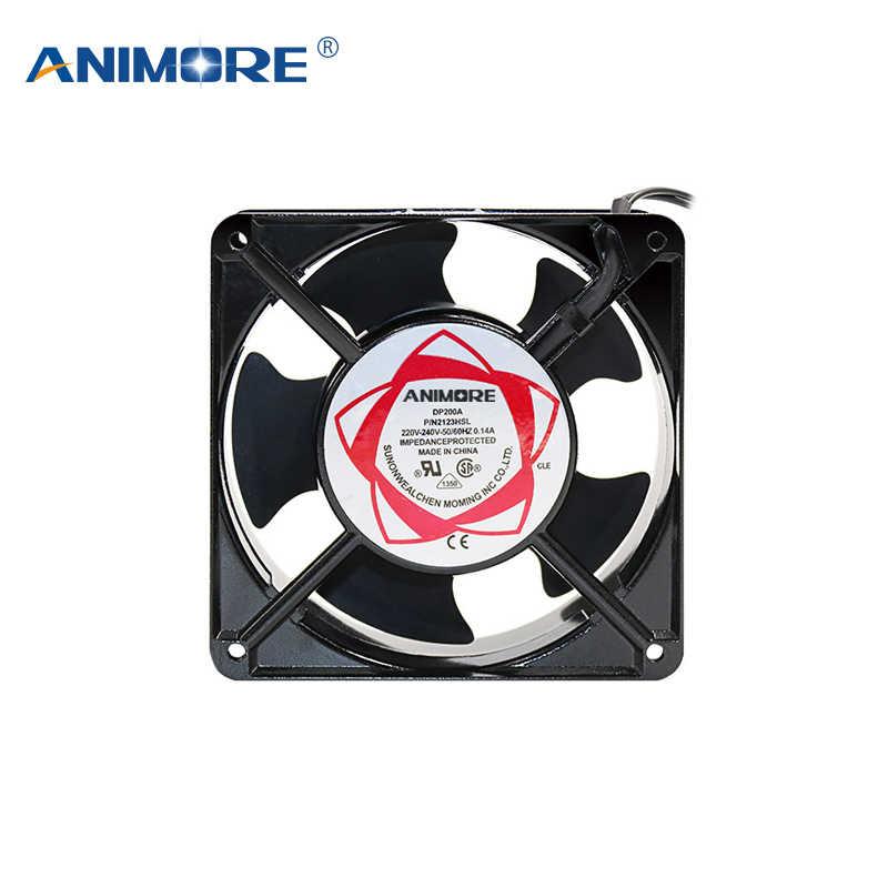 ANIMORE Ventilator Fan Geräuscharm Lüfter 120X120X38mm Axial Fans Verwenden Für Ozonisator Zubehör Löten zinn Auspuff Fan