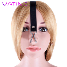 VATINE Stainless Steel SM Bondage Force Rise Role Playing Nose Hook Unisex Elast